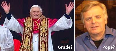 New Pope = Michael Grade?