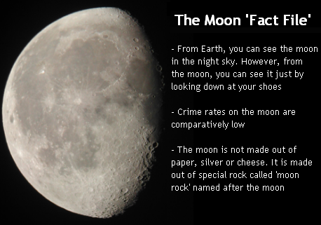 The Moon 'Fact File'