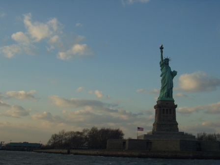 The one and only Statue of Liberty – amazing to see it for real, as it were