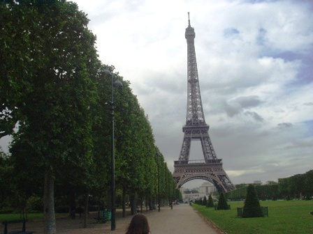 We had to take this. We were in Paris!