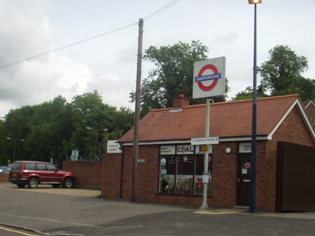 … a small town with a tube station plonked in it