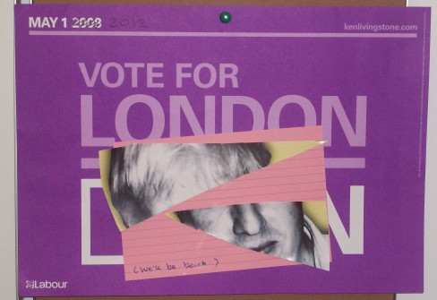 Swift work made of a Boris poster