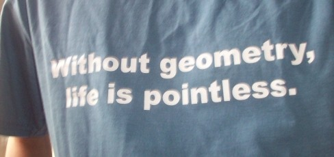 'Without geometry, life is pointless'