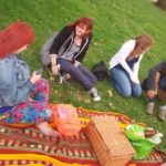 Colourful picnic