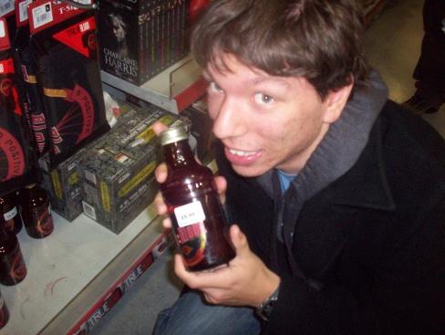A bottle of True Blood