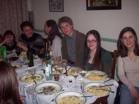 Abbi, Paul, Josh, Oliver, Abi, Sarah (Sanna was also about, somewhere!)