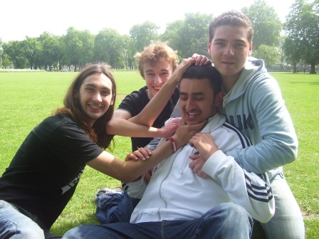 While Adnan manages to just make the album :P