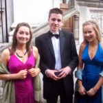 Sophie, Joe and Philippa