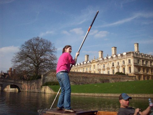 Sophie's crew are punting to victory