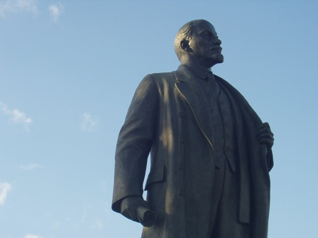 Is Lenin? Well, is he? Aw, never mind…