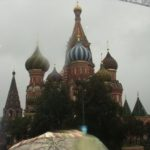 And St Basil's. In the rain.