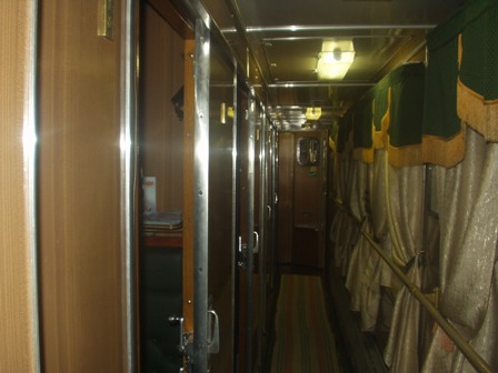 Our beautiful overnight train