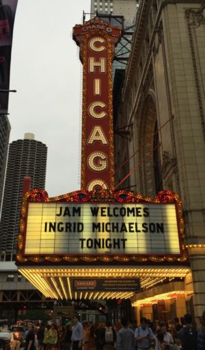 Ingrid Michaelson at the Chicago Theatre