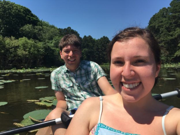 Kayaking at Shelby Farms Park