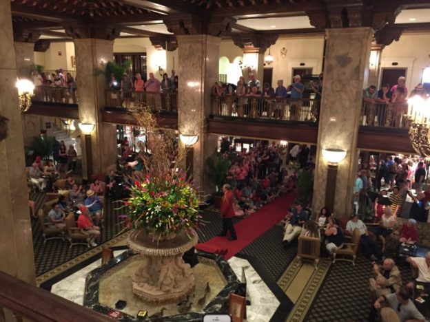 Procession of the Peabody Ducks