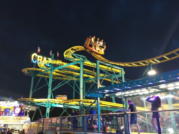 The Crazy Mouse ride: our final attraction