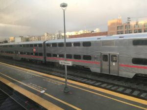 Commuting life: the Caltrain to Palo Alto
