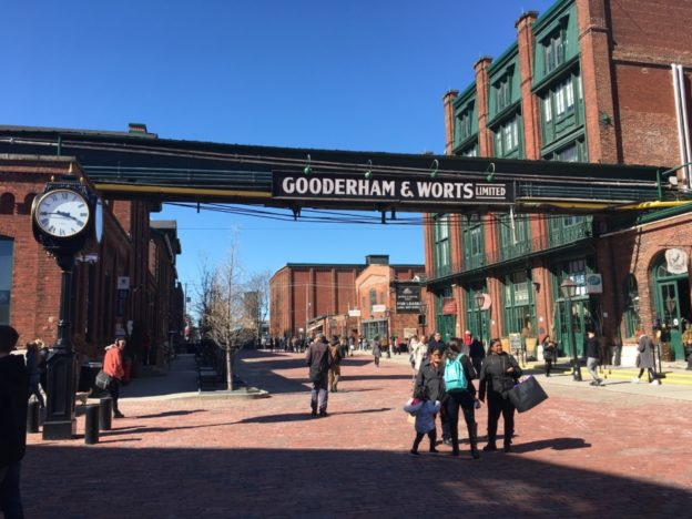 Within the Distillery District