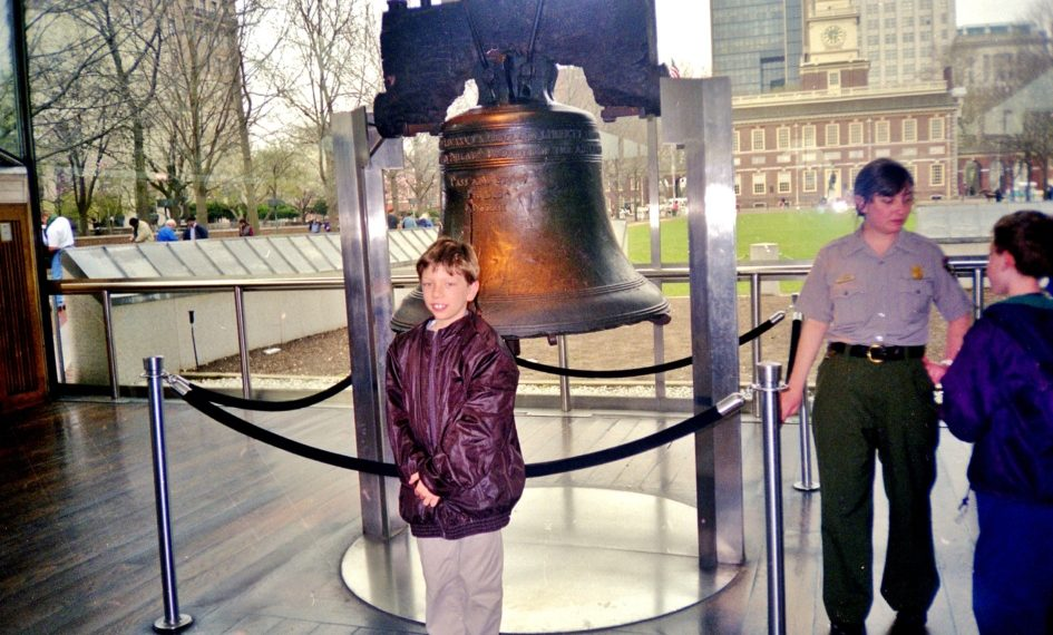 At the Liberty Bell!