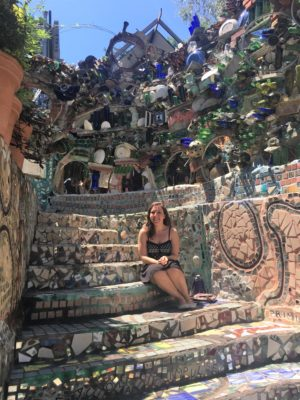 At the Magic Gardens