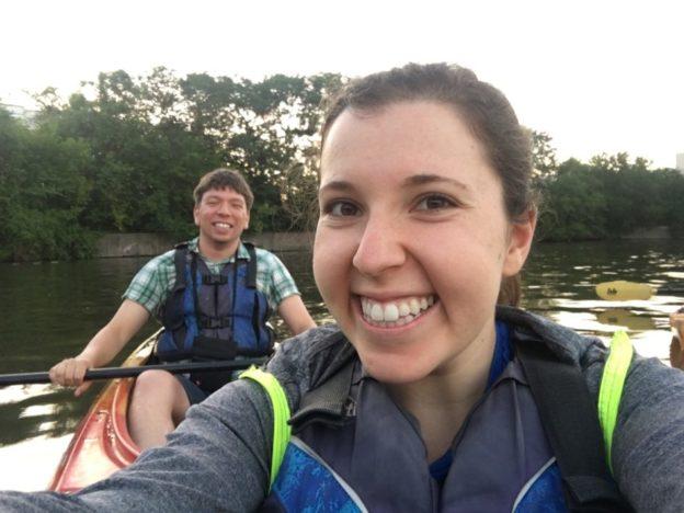 We got the kayaking team back together again