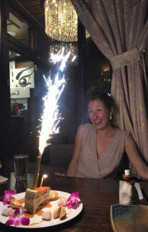 Birthday candle and/or firework