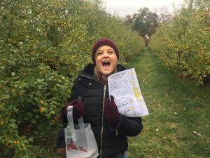 It's apple picking time!