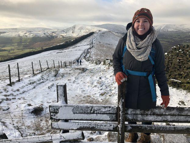 On the ridge walk to Mam Tor