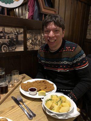 Schnitzel! I ate so much schnitzel...
