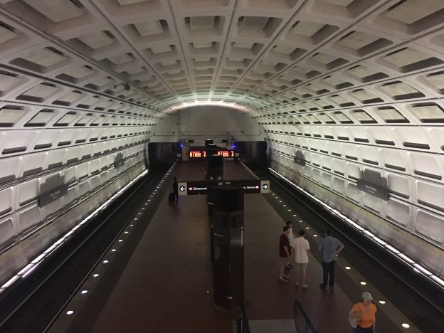 The sci-fi dystopia to haunt your dreams and/or the Washington Metro