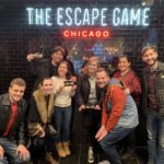 Escape room dream team: Devlin, Amanda, me, Randi, Carolyn, Todd, Anne and Trevor