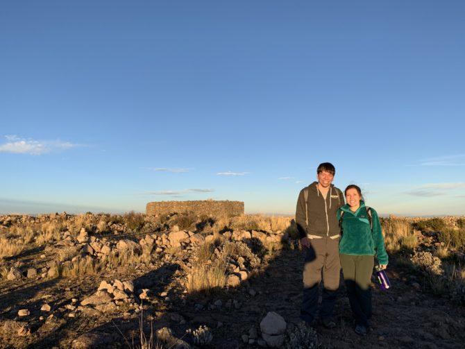 At the peak of Pachamama