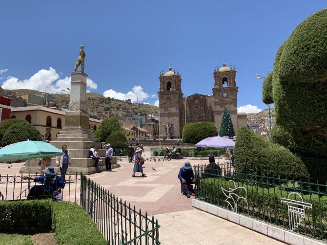 Puno's main square