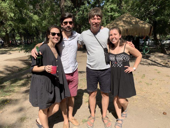 With Francisco and Carolina!