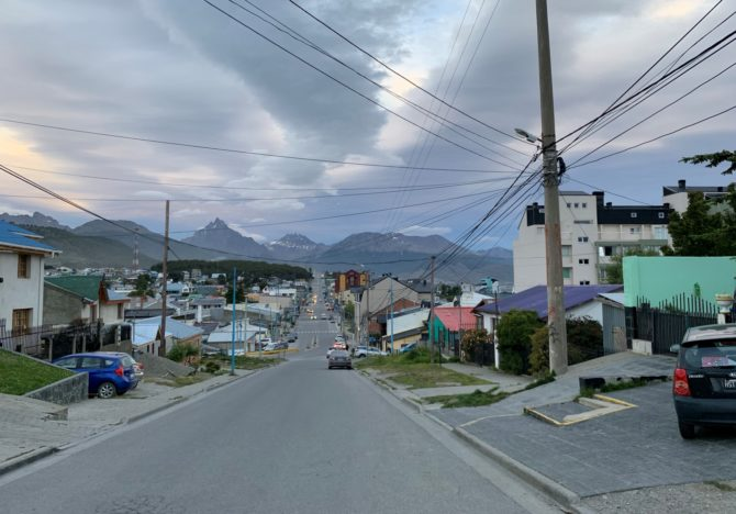 Ushuaia! Where it basically never gets dark, and I don't understand how anybody's kids are ever put to bed.