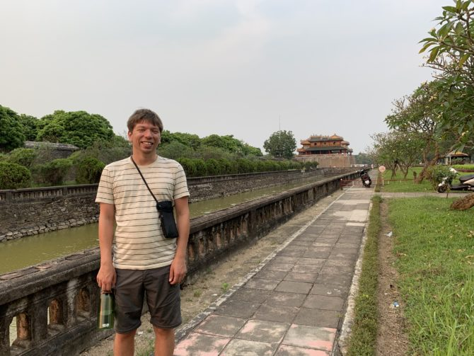 By the moat of the Imperial City