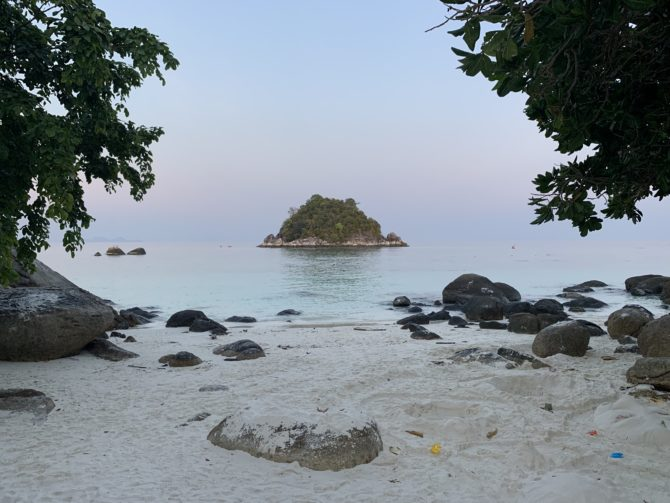 Koh Usen, the little island opposite