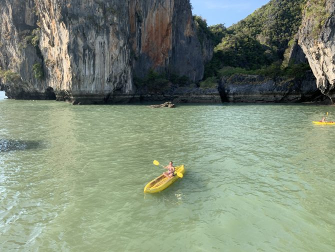 Randi stole a kayak during 'free time'