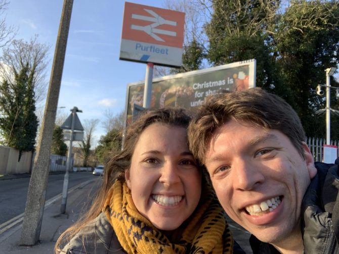 Celebrating our final London LOOP of 2019