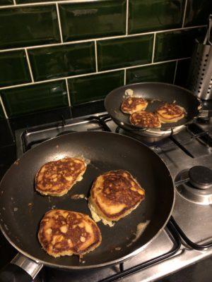 Sweetcorn pancakes!