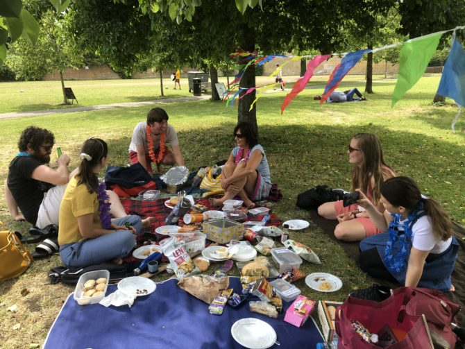 Birthday picnic!