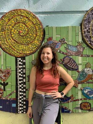 By the Malden Manor Mosaic on the Loop Section 8