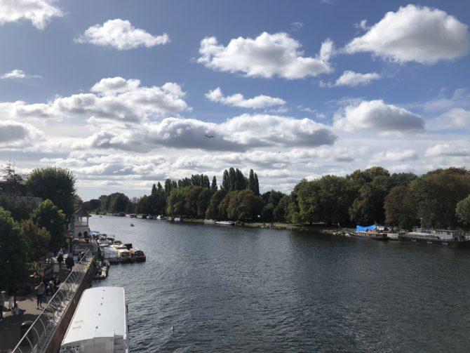 Reaching the Thames, last seen on the LOOP at Purfleet nine months earlier