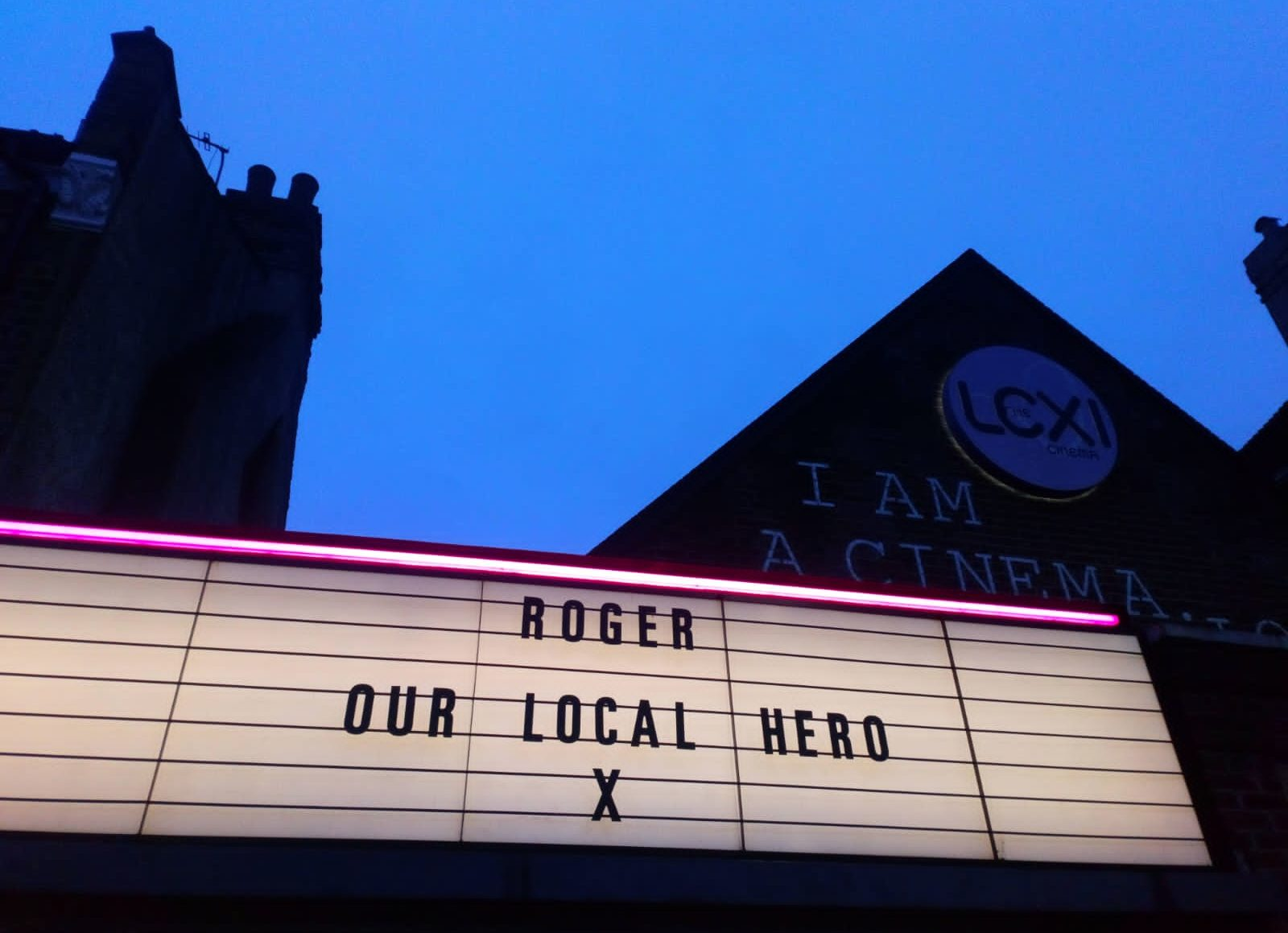 The Lexi Cinema's tribute to dad