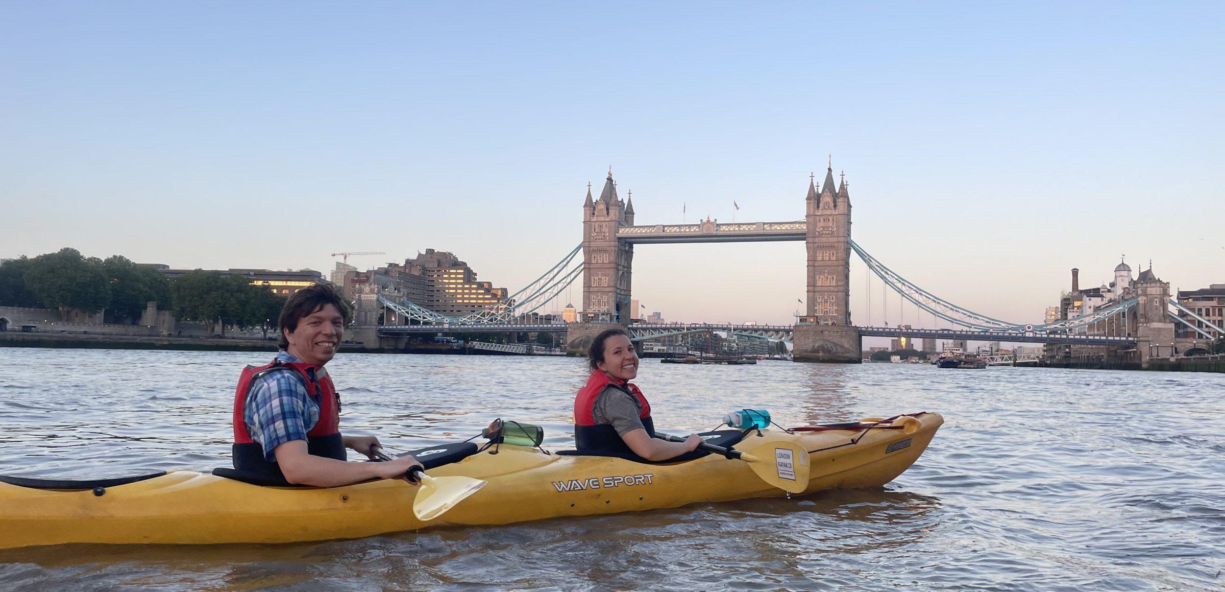 At Tower Bridge