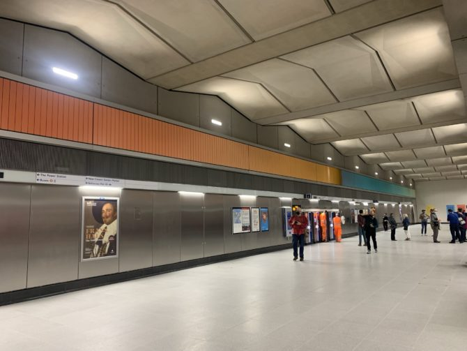 Shiny new South London tube stations don't come along very often, even if they are just barely south