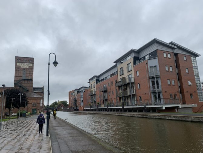 It wouldn't be the North without a converted mill by a canal